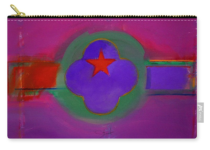 Star Carry-all Pouch featuring the painting Venice Spiritual by Charles Stuart