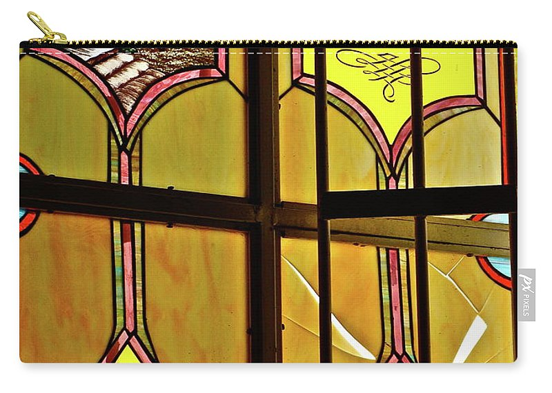 Window Carry-all Pouch featuring the photograph Ventana by Diana Hatcher
