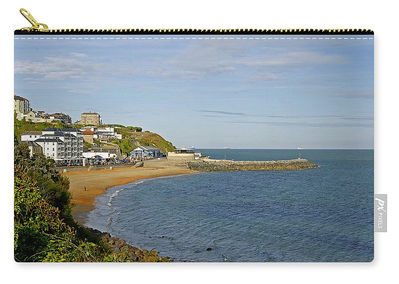Isle Of Wight Carry-all Pouch featuring the photograph Ventnor Bay by Rod Johnson