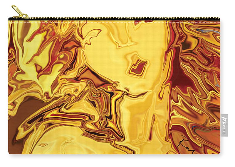 Carry-all Pouch featuring the digital art Venus 2008 by Rabi Khan