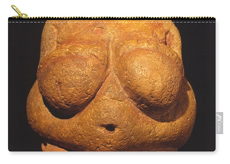 Ancient Carry-all Pouch featuring the photograph Venus Of Willendorf by Granger