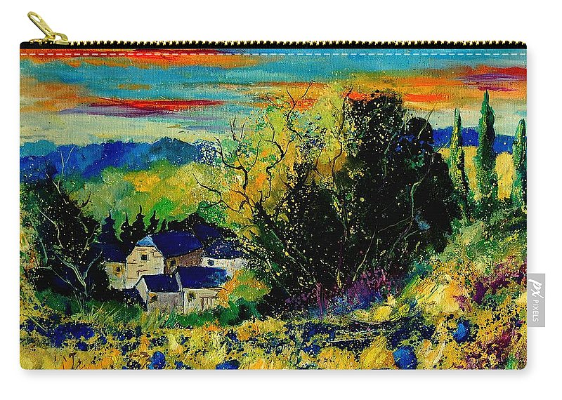 Tree Carry-all Pouch featuring the painting ver by Pol Ledent