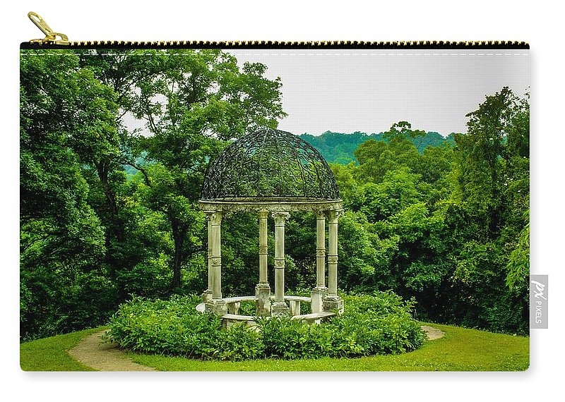 Virginia Carry-all Pouch featuring the photograph Veranda by Anthony Rodrigues