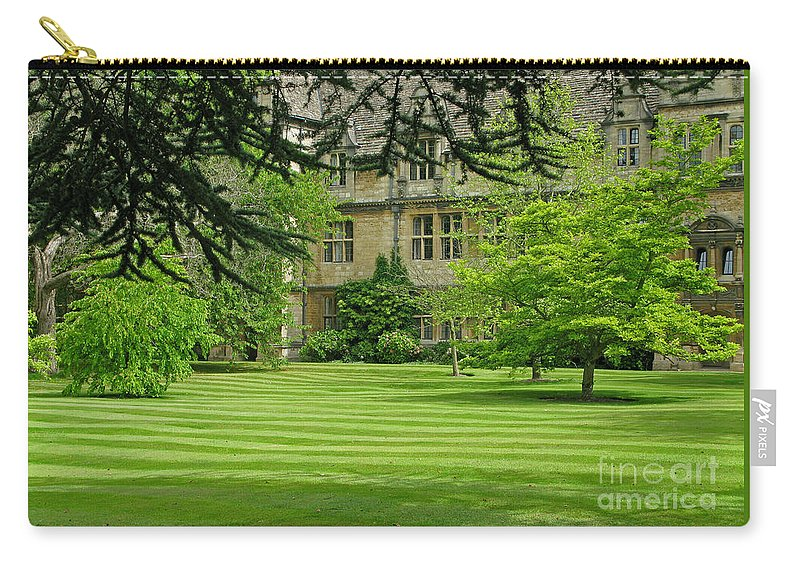 England Carry-all Pouch featuring the photograph Verdant England by Ann Horn