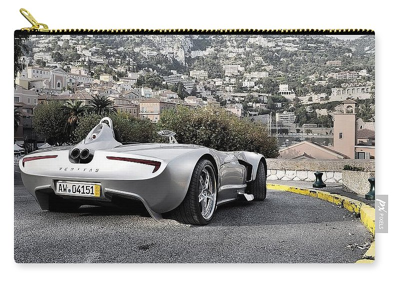 Veritas Rs Iii Carry-all Pouch featuring the digital art Veritas Rs IIi by Dorothy Binder