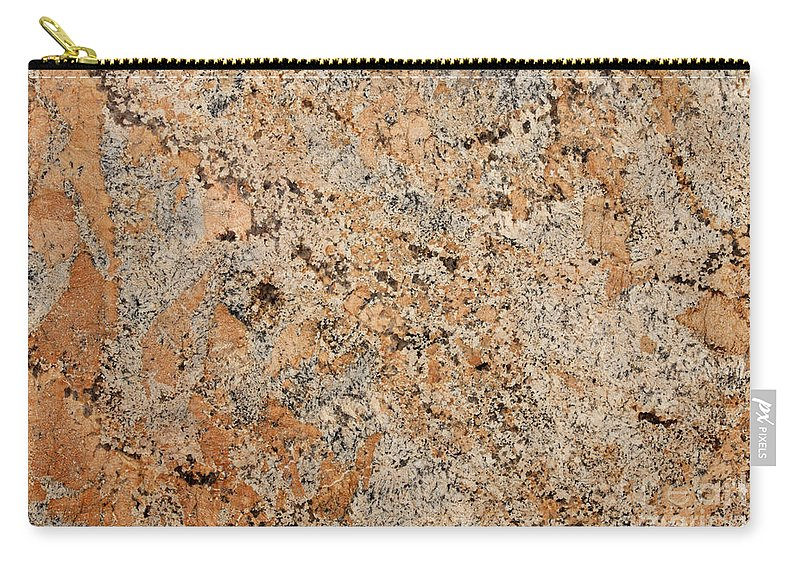Granite Carry-all Pouch featuring the photograph Versace Granite by Anthony Totah