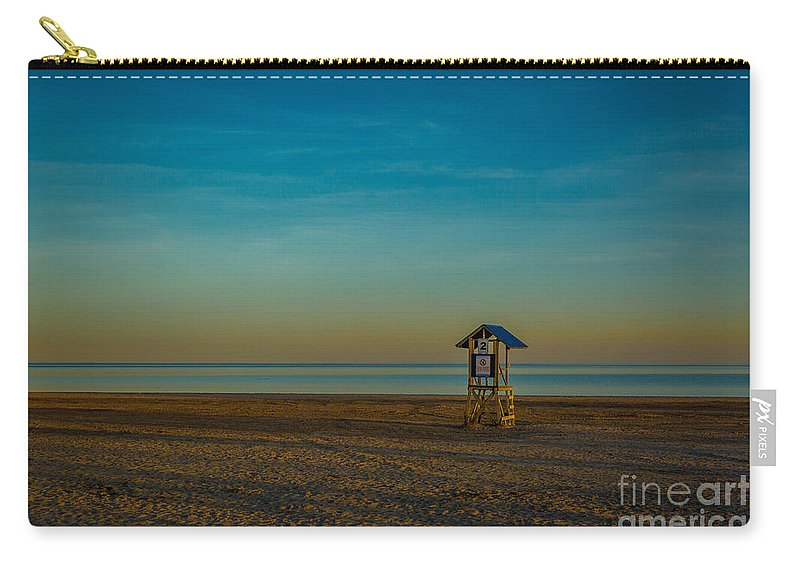 Beach Carry-all Pouch featuring the photograph Victoria Beach by Roger Monahan