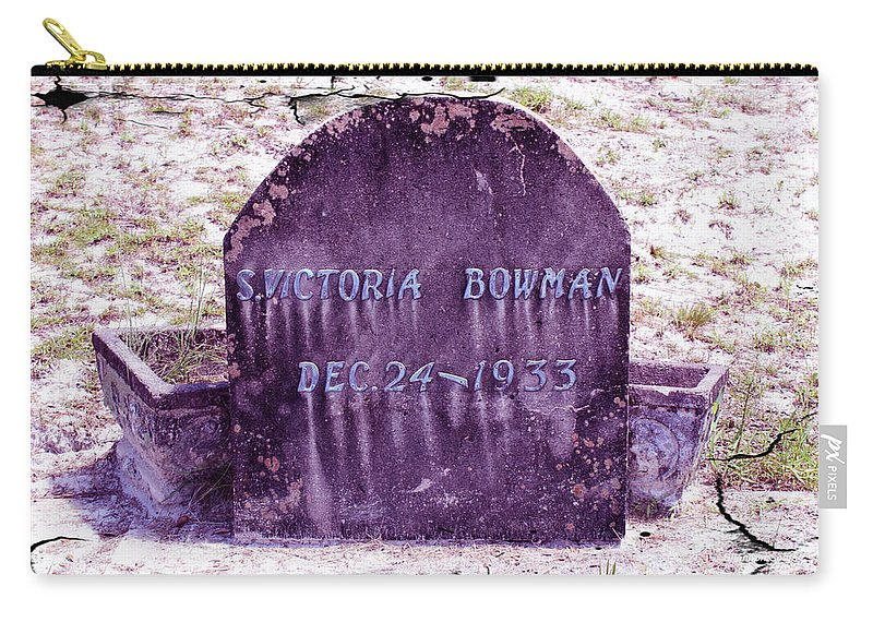 Shannon Carry-all Pouch featuring the photograph Victoria Eternal Sleep by Shannon Sears