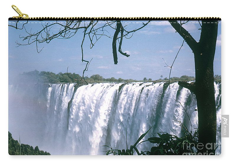 Nature Carry-all Pouch featuring the photograph Victoria Falls by Photo Researchers Inc