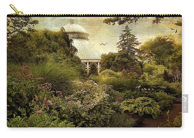 Garden Carry-all Pouch featuring the photograph Victorian Spring by Jessica Jenney