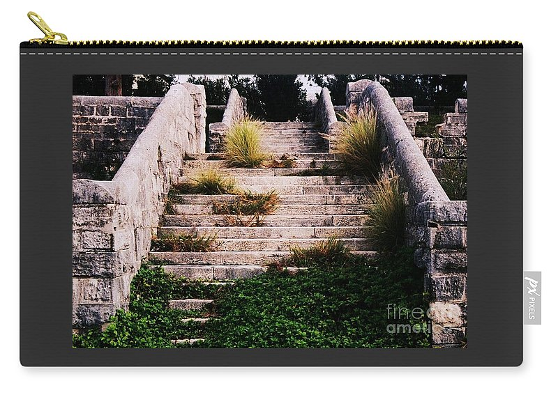Steps Art Bermuda Vision Dockyard History Landmark Victorian Era Kings Wharf Area Stock Shot Travel Outdoors Travel Destination Whimsical Subject Canvas Print Metal Frame Poster Print Unique Invitation To A Party Card Available On T Shirts Tote Bags Pouches New Spiral Notebooks Weekender Tote Bags Phone Cases Shower Curtains And Mugs Carry-all Pouch featuring the photograph Victorian Era Steps At Dockyard Bermuda by Marcus Dagan