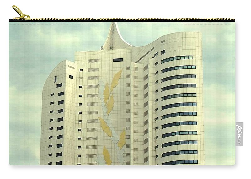 Vienna Carry-all Pouch featuring the photograph Vienna Architecture by Ian MacDonald
