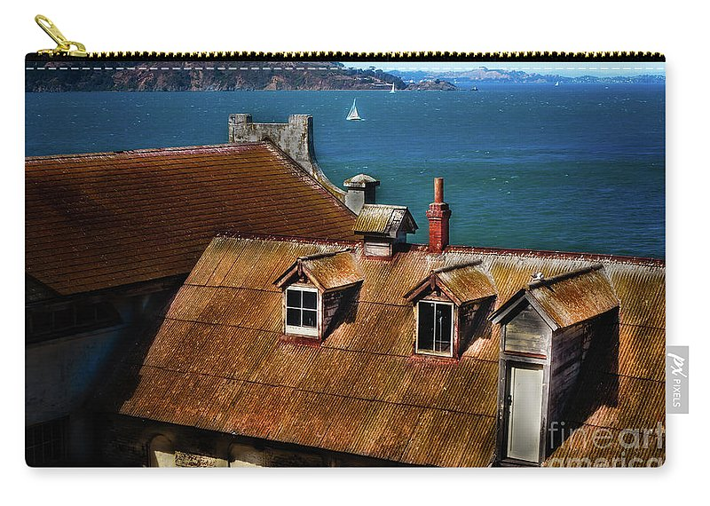 Sfo Carry-all Pouch featuring the photograph View From Alcatraz by Doug Sturgess