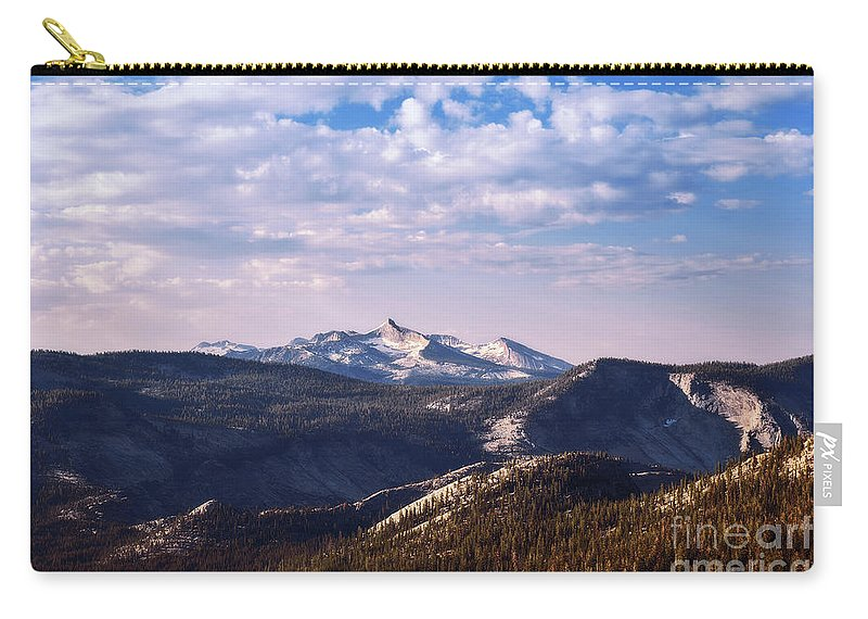 Yosemite Carry-all Pouch featuring the photograph View From May Lake by Sharon Seaward