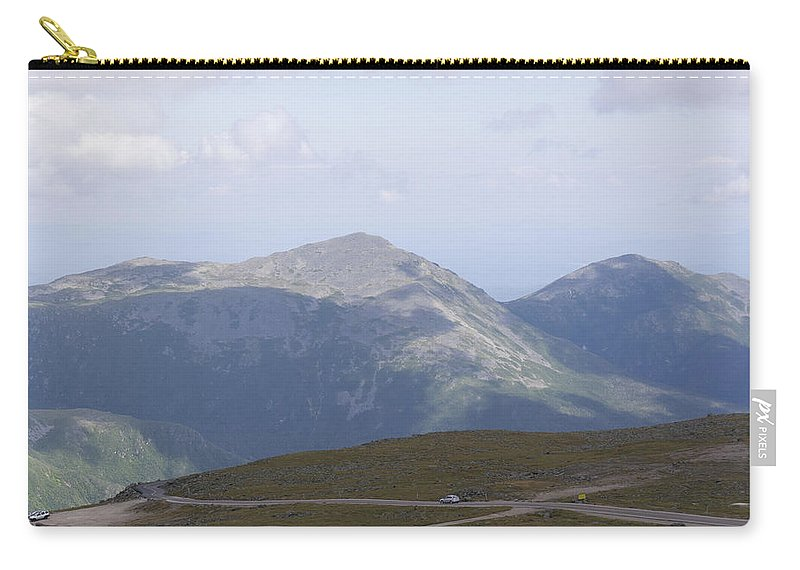Peak Carry-all Pouch featuring the photograph View From Mount Washington by Adam Gladstone