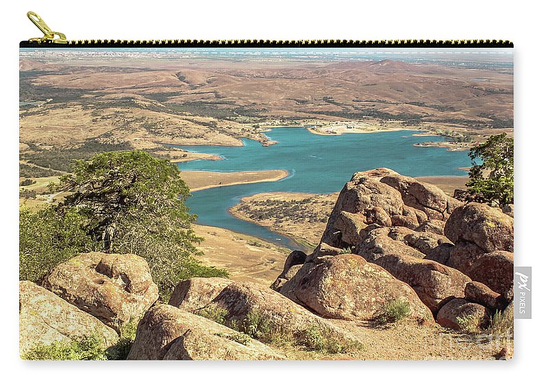 Landscape Carry-all Pouch featuring the photograph View From Mt Scott by Robert Frederick