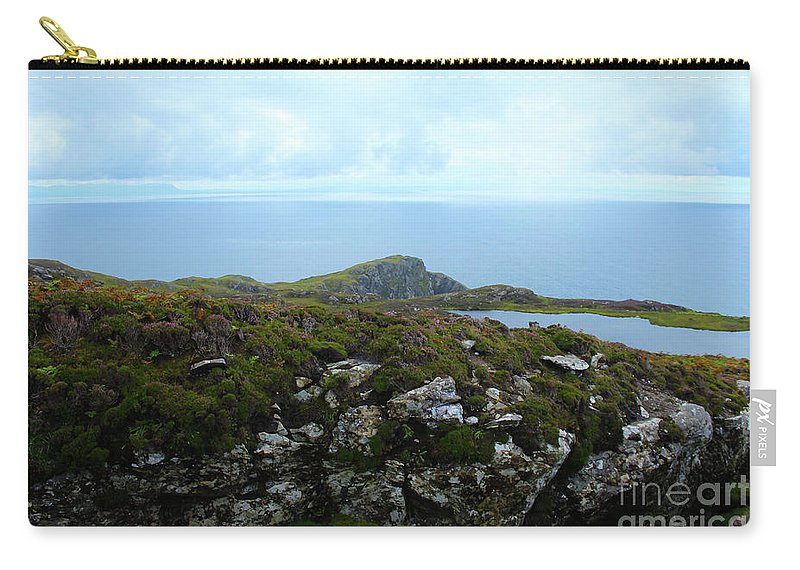 Landscape Carry-all Pouch featuring the photograph View From The Top by Eddie Barron
