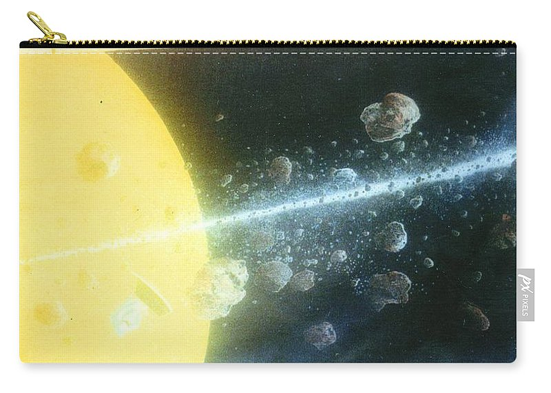 Spacescape Carry-all Pouch featuring the painting View Master by A Robert Malcom