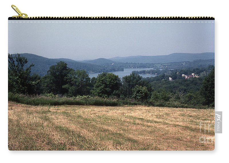 Lake Waramaug Carry-all Pouch featuring the photograph View Of Lake Waramaug by Richard Rizzo