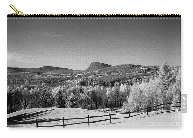 Landscape Carry-all Pouch featuring the photograph View Of Lake Willoughby by Richard Rizzo