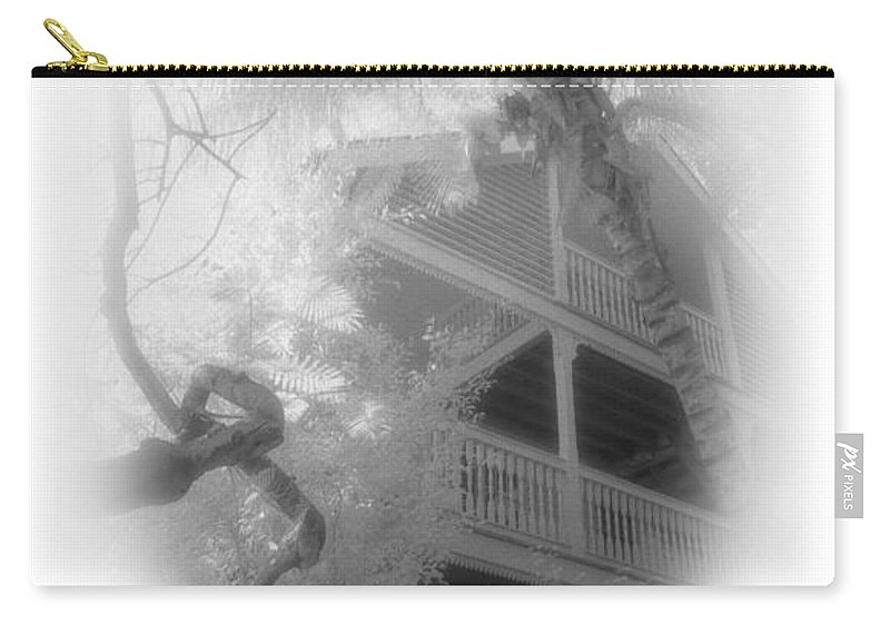 Balcony Carry-all Pouch featuring the photograph View Of The Balcony by Richard Rizzo