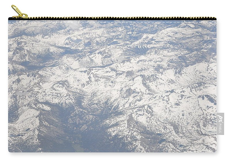 View Carry-all Pouch featuring the photograph Views From The Sky by Terry Anderson