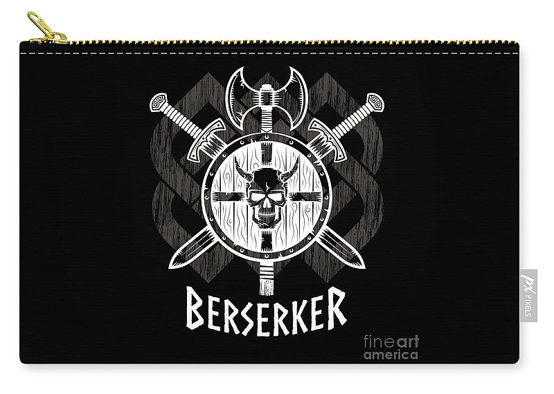 Viking Berserker Old Norse Wild Warrior Carry All Pouch For Sale By
