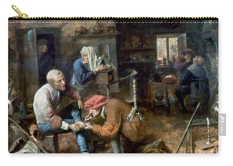 Adrian Carry-all Pouch featuring the photograph Village Barber-surgeon by Granger