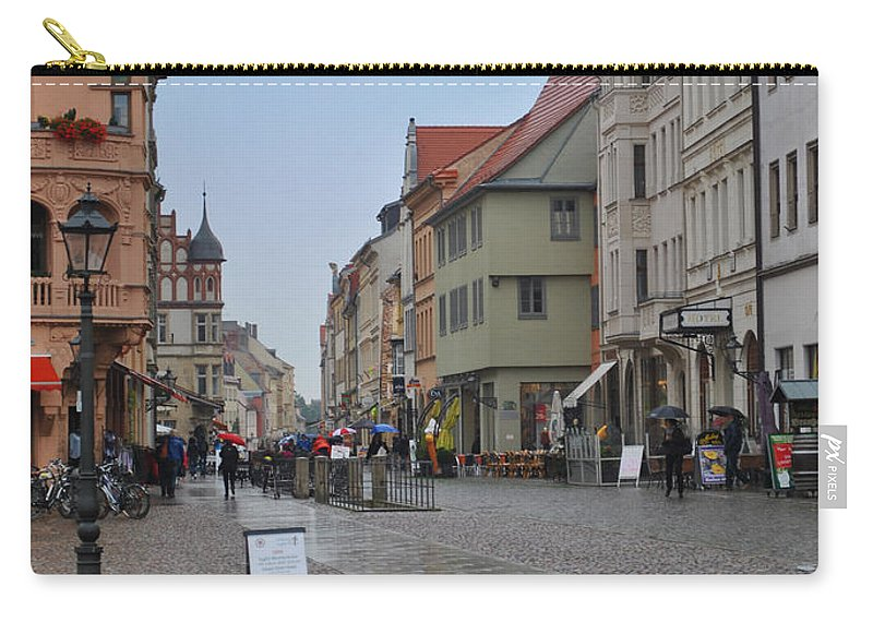Wittenberg Carry-all Pouch featuring the photograph Village Stadt by Jost Houk
