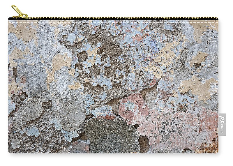 Wall Carry-all Pouch featuring the photograph Vintage Abstract II by Elena Elisseeva