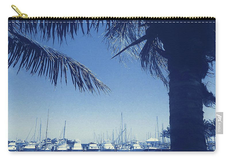 Vintage Carry-all Pouch featuring the photograph Vintage Miami by JAMART Photography