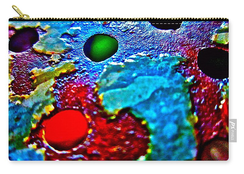 Photograph Of Strainer Carry-all Pouch featuring the photograph Vintage Strainer Two by Gwyn Newcombe
