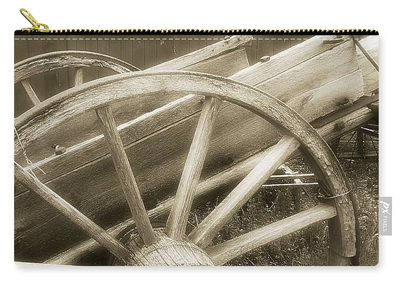 Barn Carry-all Pouch featuring the photograph Vintage Tableau by RC DeWinter