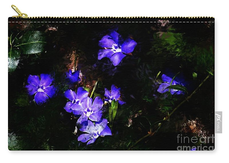 Spring Carry-all Pouch featuring the photograph Violet by David Lane
