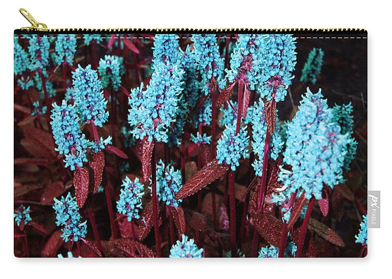 Carry-all Pouch featuring the photograph Violet Dream by Jamie Lynn