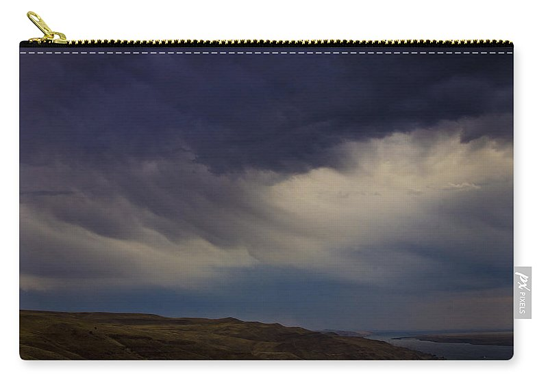 Clouds Carry-all Pouch featuring the photograph Virga by Albert Seger