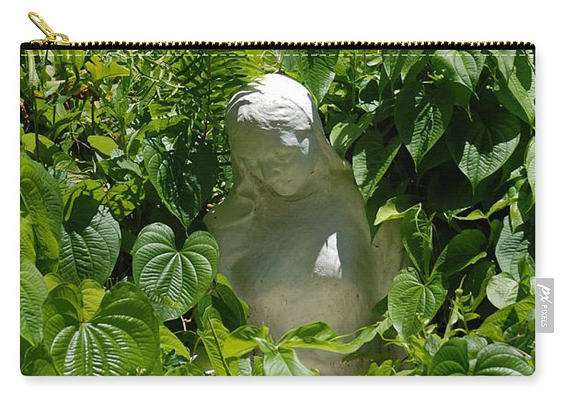 Miami Monastery Carry-all Pouch featuring the photograph Virgin Mary by Rob Hans