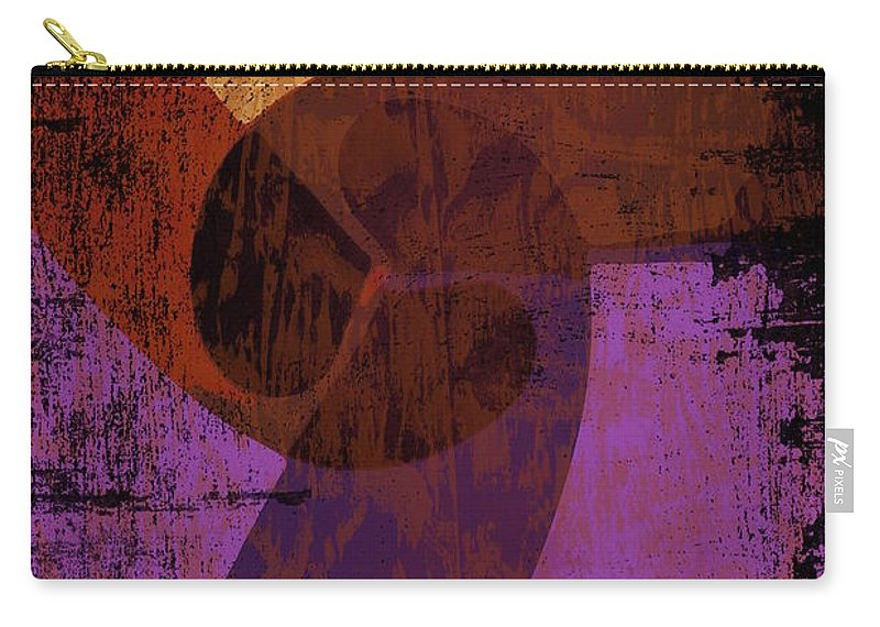 Purple Carry-all Pouch featuring the photograph Virgo Illuminations by Joan Reese