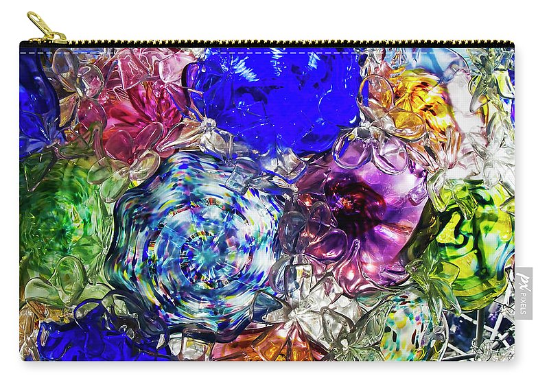Vitreous Flora Carry-all Pouch featuring the photograph Vitreous Flora by Gary Holmes