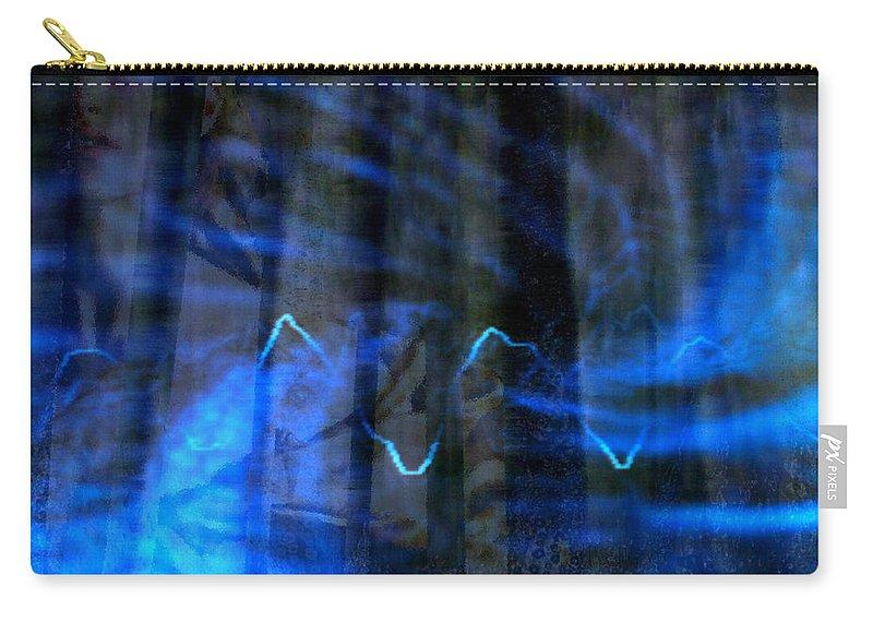 Vivandiere Carry-all Pouch featuring the digital art Vivandiere by Seth Weaver
