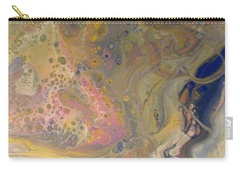 Abstract Carry-all Pouch featuring the painting Vivid Dreams 1 by C Maria Wall