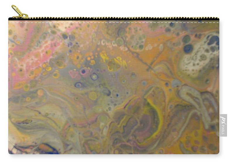 Abstract Carry-all Pouch featuring the painting Vivid Dreams 2 by C Maria Wall