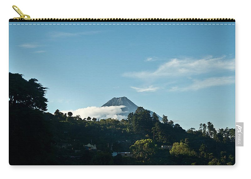 Volc�n De Agua Carry-all Pouch featuring the photograph Volcan De Agua Antiqua Gutemala 1 by Douglas Barnett
