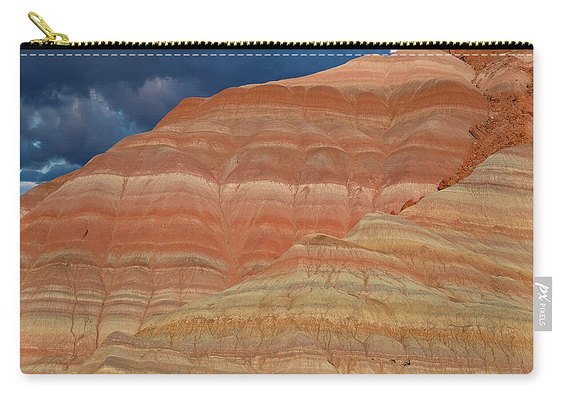Paria Carry-all Pouch featuring the photograph Volcanic Rainbow by Kathleen Bishop