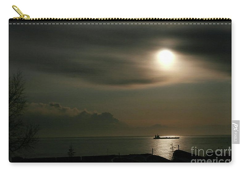 Clouds Carry-all Pouch featuring the photograph Volcanic Shroud by Rick Monyahan