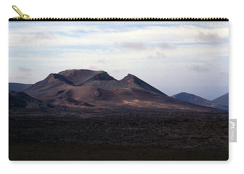 Lehtokukka Carry-all Pouch featuring the photograph Volcano 1 by Jouko Lehto