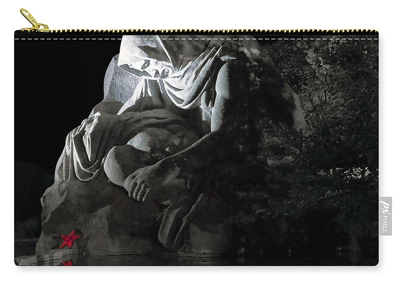 Architecture Carry-all Pouch featuring the photograph Volgograd6 by Svetlana Sewell