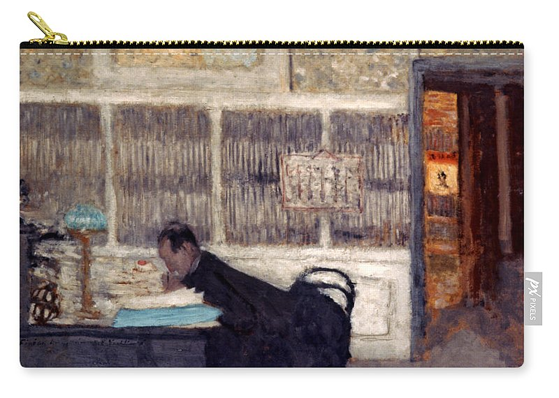 1901 Carry-all Pouch featuring the photograph Vuillard: Revue, 1901 by Granger