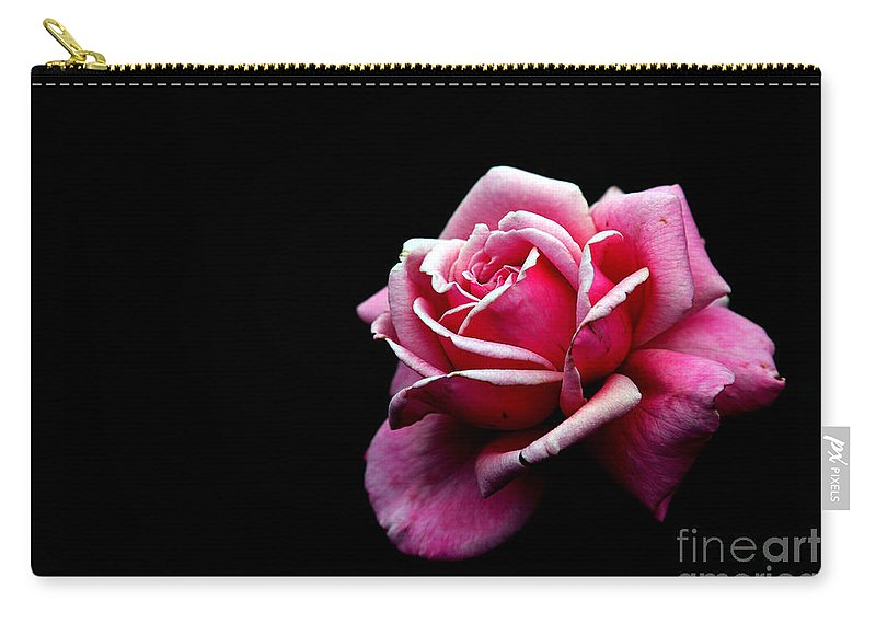 Rose Carry-all Pouch featuring the photograph Waiting by Amanda Barcon