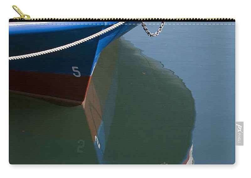 Chicago Windy City Boat Ride Lake Michigan Water Reflection Tourist Tourism Carry-all Pouch featuring the photograph Waiting For Passangers by Andrei Shliakhau